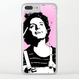 Mac DeMarco: Love in Pink Clear iPhone Case