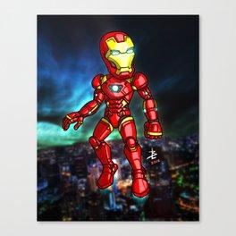 Iron Man Cartoon Canvas Print
