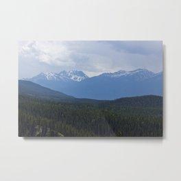 Higher View Metal Print
