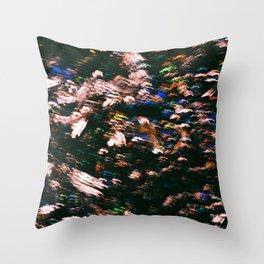 Colourful Blur Throw Pillow