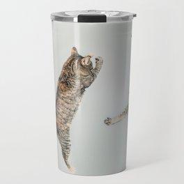 Les chats qui jouent! Travel Mug