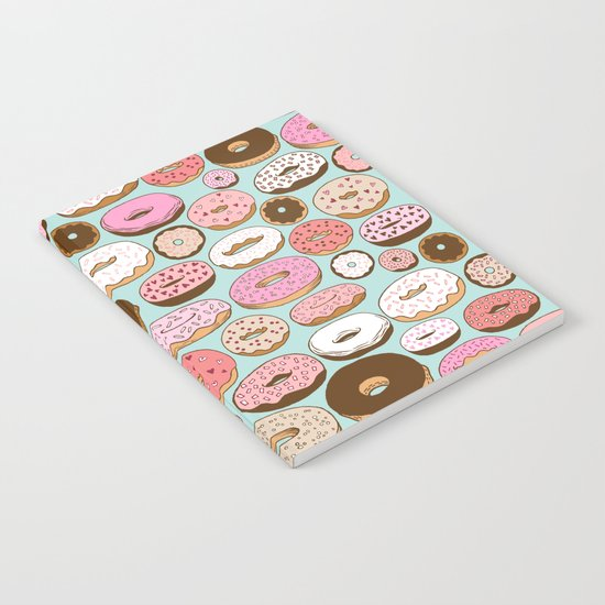 Donut Wonderland Notebook