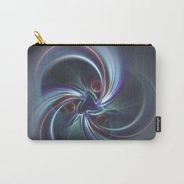 Moons Fractal in Cool Tones Carry-All Pouch