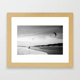 """""""OZ LAND"""" kitesurf . kite . surf Framed Art Print"""