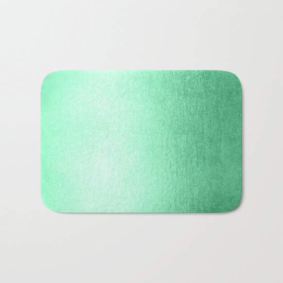 Mint Meringue Shimmer Bath Mat