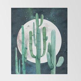 Desert Nights 2 Throw Blanket