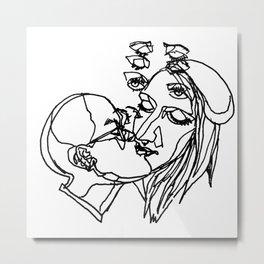 Intimacy Metal Print