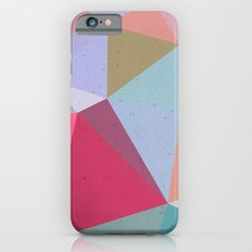 Colourful geometry iPhone 6s Slim Case