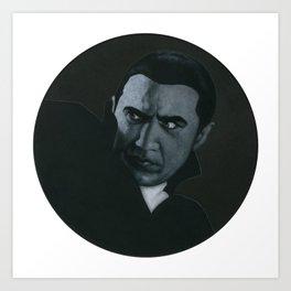 Bram Stoker's Dracula on vinyl record print Art Print