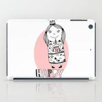 happy birthday iPad Cases featuring Happy Birthday by De Assuncao création