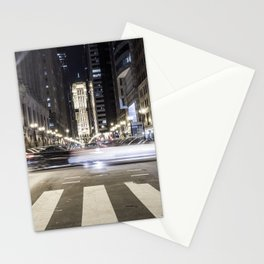 Street Blur Stationery Cards