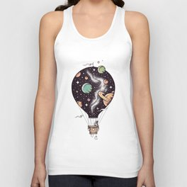 Interstellar Journey Unisex Tank Top