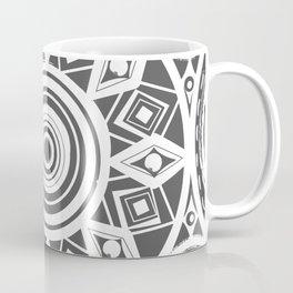 Dark Gray Egg Coffee Mug