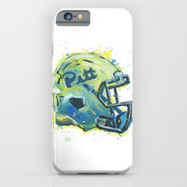 Hail to Pitt iPhone Case