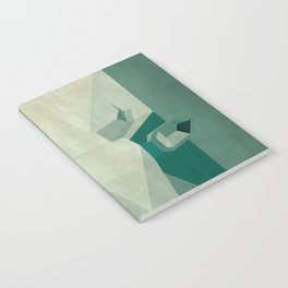 Picasso style abstract cow Notebook