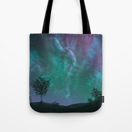 Under The Sky Full Of Stars, I'd Still Stare At You Tote Bag