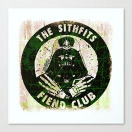 Sithfits - Fiend Club Canvas Print