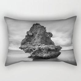 Grumpy Rock Rectangular Pillow