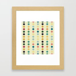 Dot Spot Framed Art Print