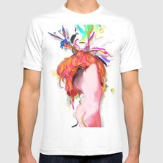 Miere MEDIUM White Mens Fitted Tee