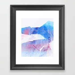 ABSTRACT LANDSCAPE YX Framed Art Print