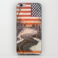 flag iPhone & iPod Skins featuring Flag by Boyce Cummings