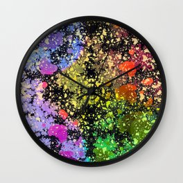 many dots III Wall Clock