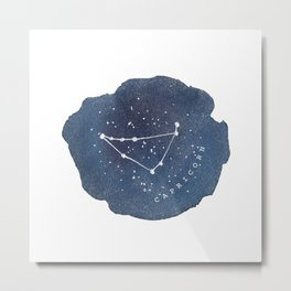 capricorn constellation zodiac Metal Print