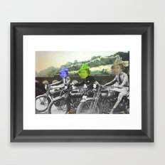 motorqueen Framed Art Print