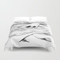 breathe Duvet Covers featuring Breathe by MrCapdevila / Bingo