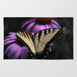 Resting Monarch Butterfly Rug