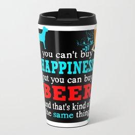 BEER AND HAPPINESS Travel Mug