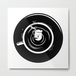 Coffee Time! Metal Print
