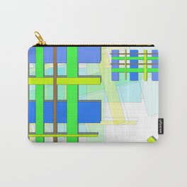 crossovers of colours Carry-All Pouch