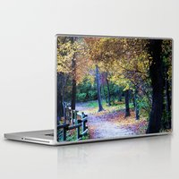 golden Laptop & iPad Skins featuring Golden by Françoise Reina