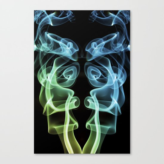 Smoke Photography #8 Canvas Print