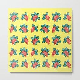 Cashew Apple Pattern 1 Metal Print