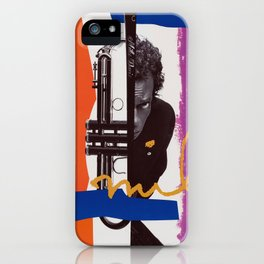 Miles - Vintage Poster iPhone Case