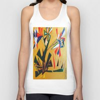 oakland Tank Tops featuring Oakland Wall Flower by Oakland.Style
