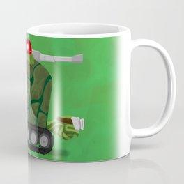 Battle Turtle Tank - slow and steady wins the battle Coffee Mug