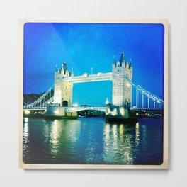 I love Tower Bridge Metal Print