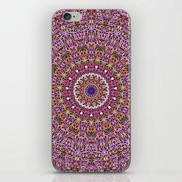 Colorful Spiritual Garden Mandala iPhone Skin