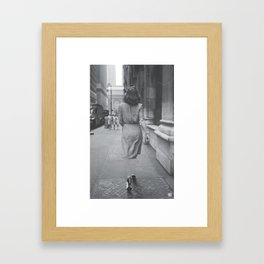 Invisible Framed Art Print