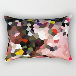 Evolution Geometric Shapes Rectangular Pillow