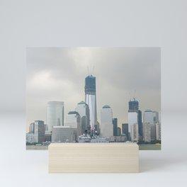 New York City and Japanese Navy Ship Shirane 2012 Mini Art Print