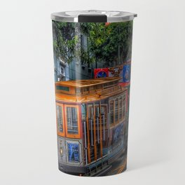 San Francisco Street Car Travel Mug