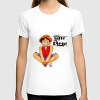 luffy T-shirts featuring Luffy by TheDigitalPandora