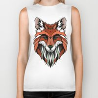 andreas preis Biker Tanks featuring Fox // Colored by Andreas Preis