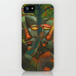 A Spot Of Bother In The Garden iPhone Case
