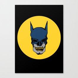 Death Wayne Canvas Print